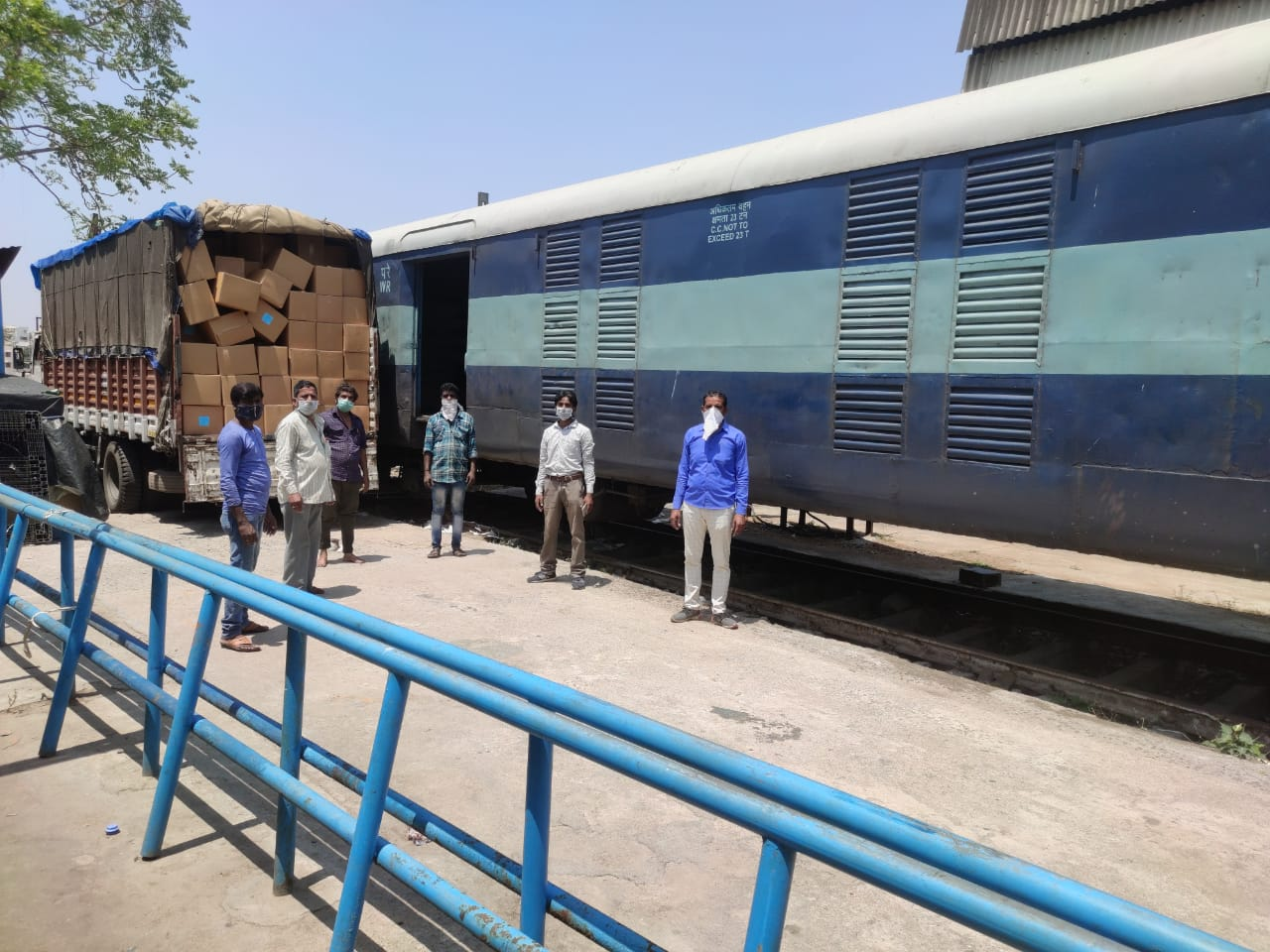 Railways to run Century of Parcel Trains to Deliver Necessities ...