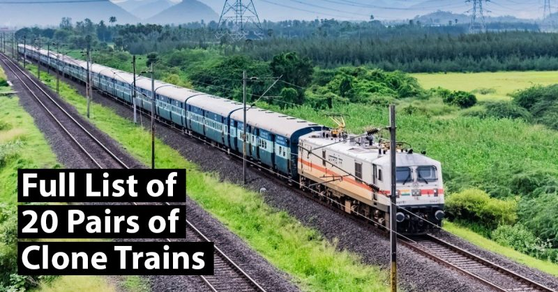 40 New Clone Trains From 21 Sep: Full List, Route and Fare